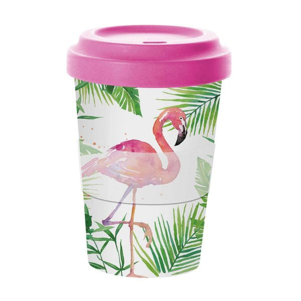 PPD coffee to go Tropical Flamingo
