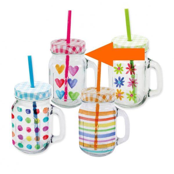 PPD drinkglas Aquarell harten