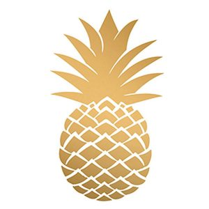ppd servetten golden pineapple