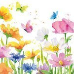 ppd servetten happy spring small