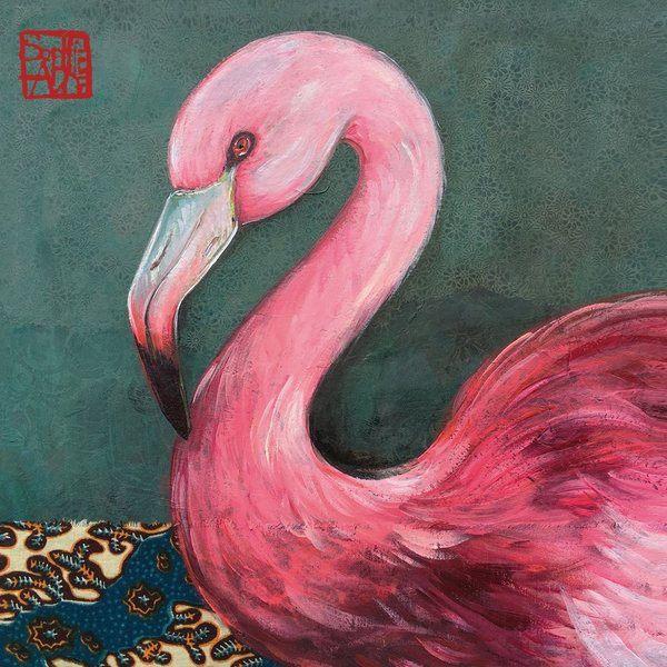 PPD servetten Joli Flamingo