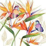 ppd servetten parrot flower small