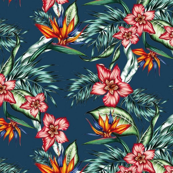 PPD servetten Tropical Flowers