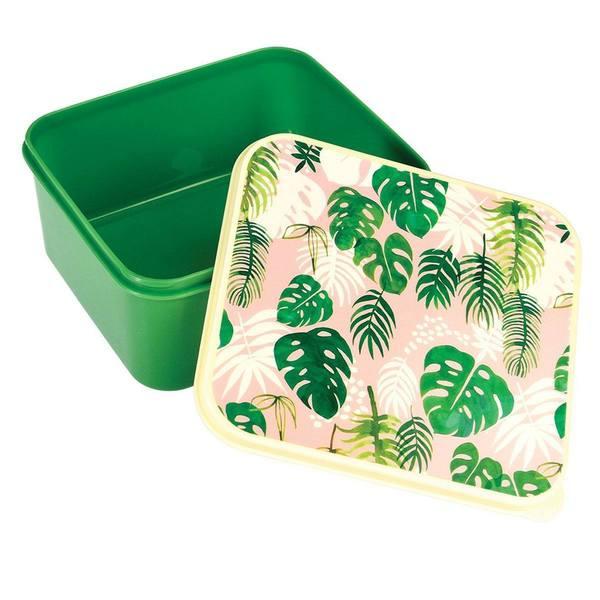 Rex London Broodtrommel Tropical Palm open