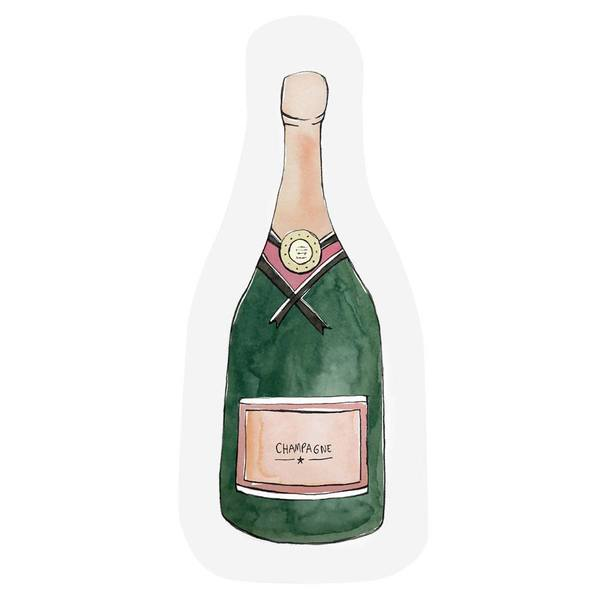 The Gift Label Cut Out Cards Champagne