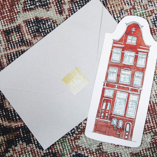 The Gift Label Cut Out Cards House 3