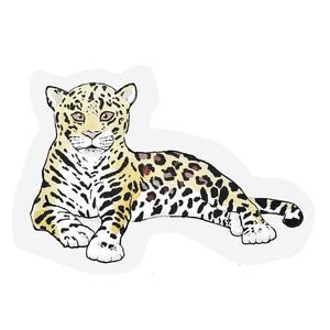 The Gift Label Cut Out Cards Leopard