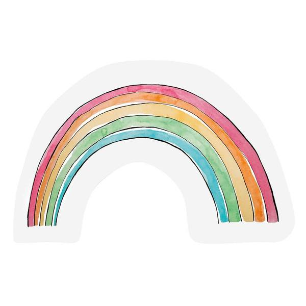 The Gift Label Cut Out Cards Rainbow