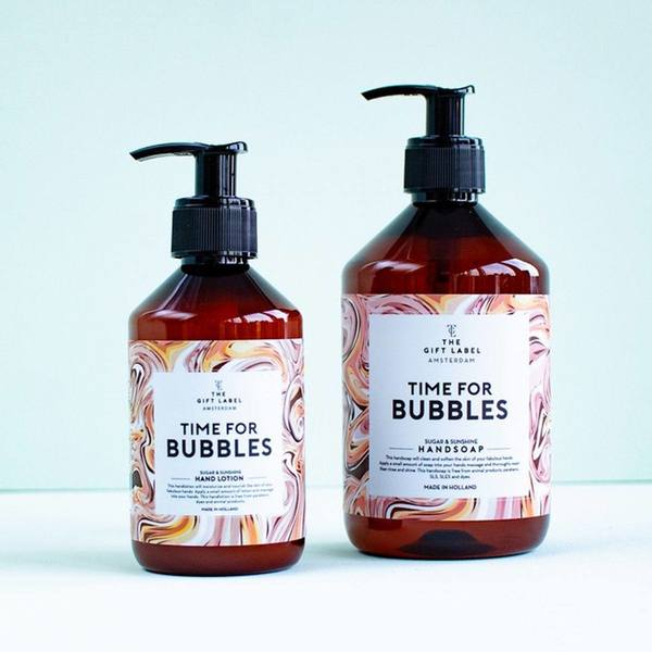 The Gift Label Hand Soap Time For Bubbles 2