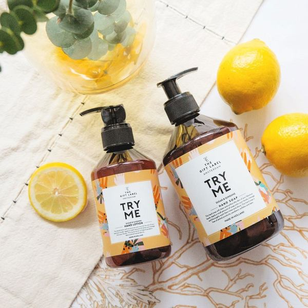 The Gift Label hand Soap Try Me 2