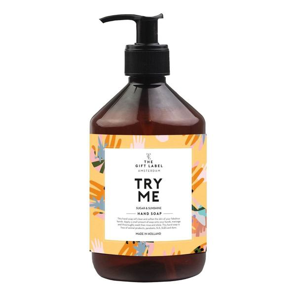 The Gift Label hand Soap Try Me