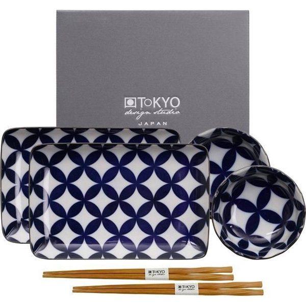 Tokyo Design Studio Kotobuki Sushi Servies model 1 - 6 stuks