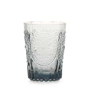 Van verre Fleur De Lys Glas Grijs klein