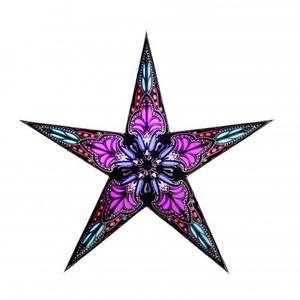 Van Verre Star Jaipur Black Pink small