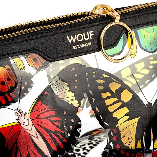 wouf beauty papillons vinyl rits