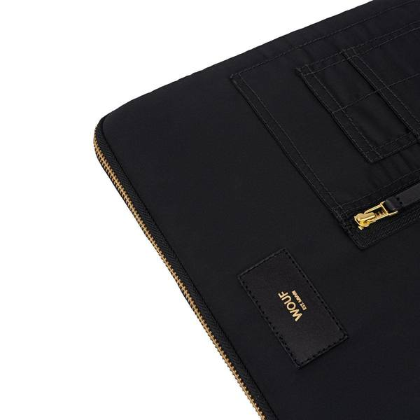 Wouf Black Bomber Laptophoes 13inch 2