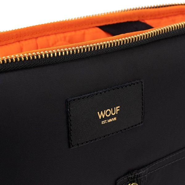 Wouf Black Bomber Laptophoes 13inch 3