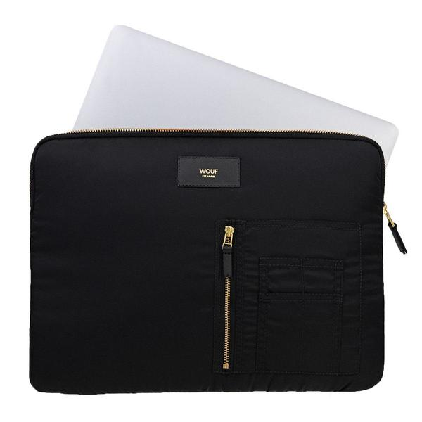 Wouf Black Bomber Laptophoes 13inch 4