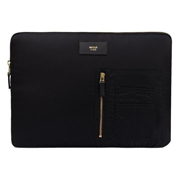 Wouf Black Bomber Laptophoes 13inch