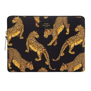 Wouf Black Leopard Laptophoes 13 inch