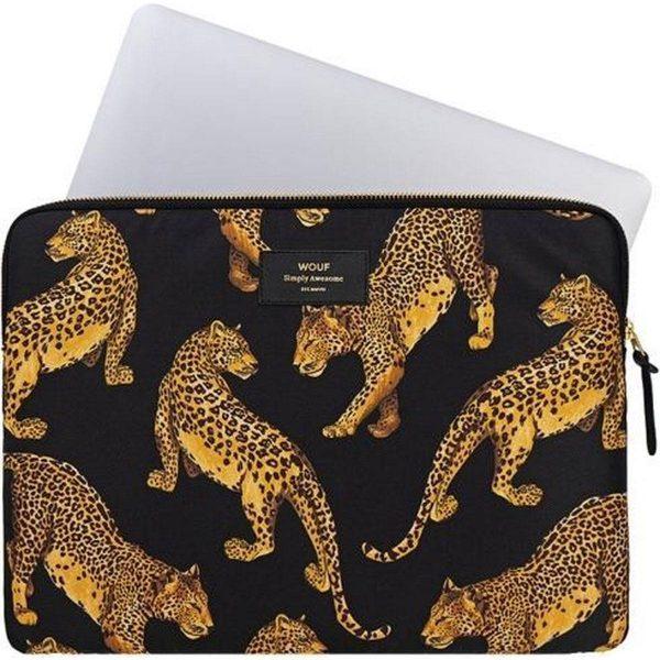 """Black Leopard Laptophoes 13"""" mac"""