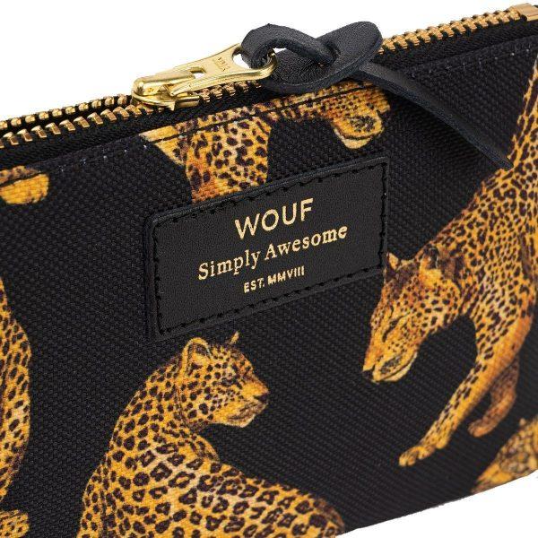 Wouf Black Leopard portemonnee 3