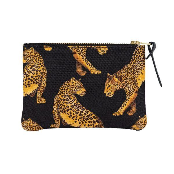 Wouf Black Leopard portemonnee 4