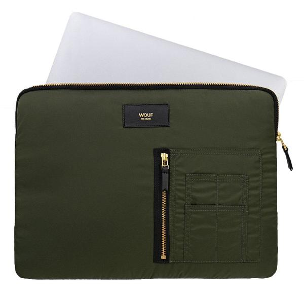 Wouf Camo Bomber Laptophoes 13 inch 2