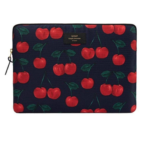 Wouf Cherries Laptophoes 13 inch