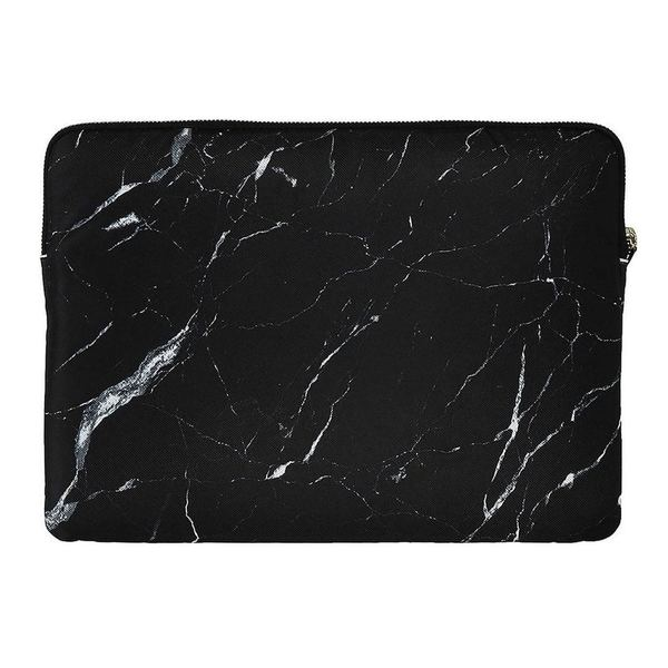 Wouf Black Marble laptophoes