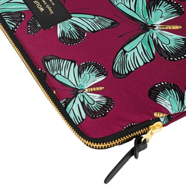 wouf laptopsleeve 13inch butterfly 4