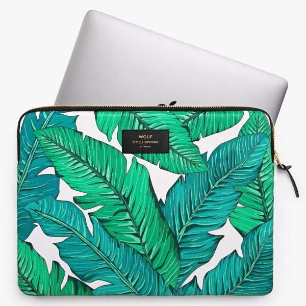 wouf laptopsleeve 13inch tropical 2