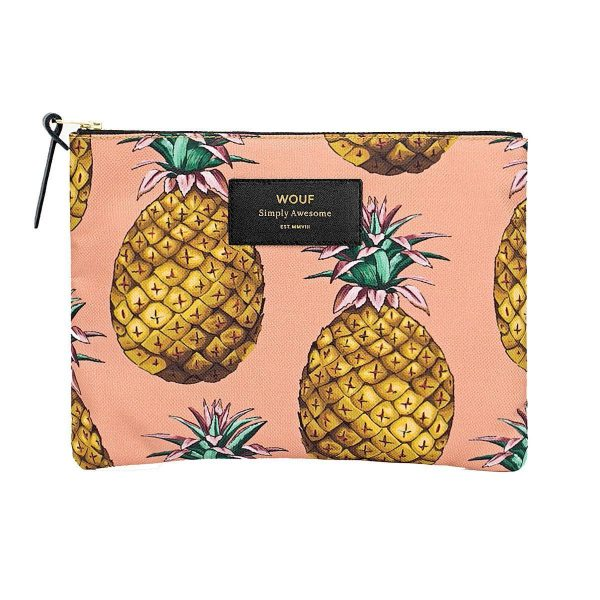 WOUF Ananas make-up tas large