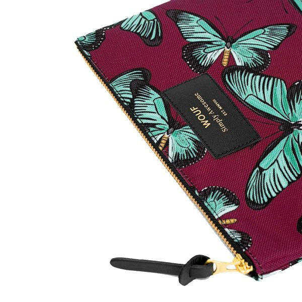 wouf large pouch butterfly 3