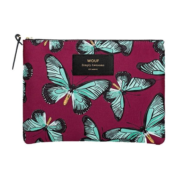 WOUF Butterfly make-up tas