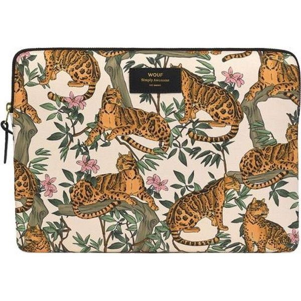 Wouf Lazy Jungle Laptophoes 13 inch