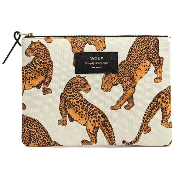 WOUF Leopard Make-up tas