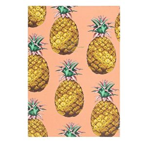 WOUF Notitieboek Ananas A5