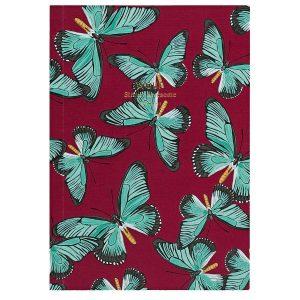 WOUF Notitieboekje Butterfly A5