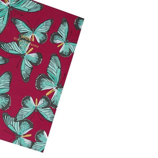wouf notitieboekje butterfly a6 3