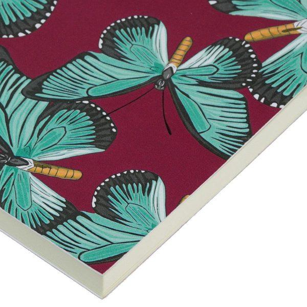 wouf notitieboekje butterfly a6 4