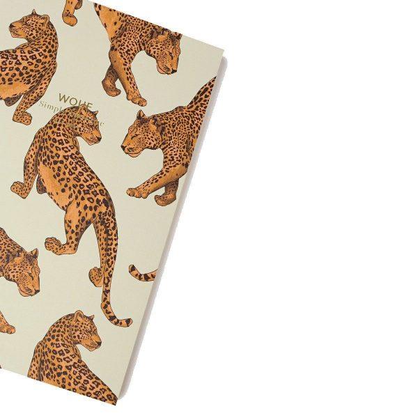 wouf notitieboekje leopard a6 3