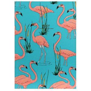 WOUF Pink Flamingo Notitieboek A6