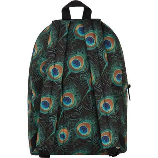 Wouf peacock rugzak achterkant