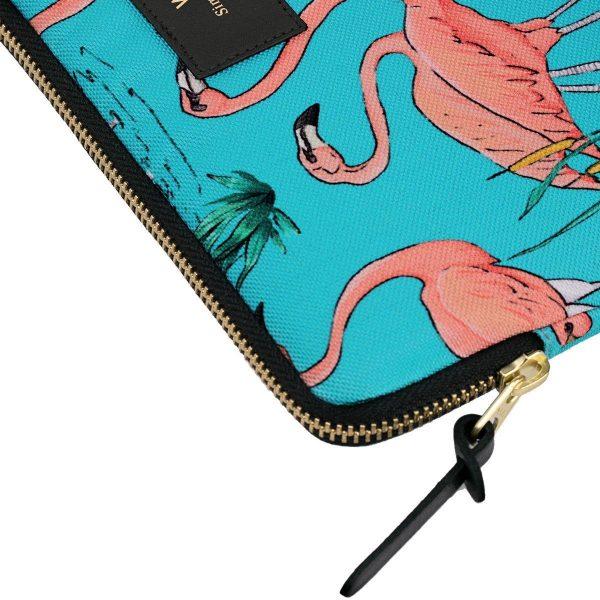 WOUF Pink Flamingos iPad hoes 3