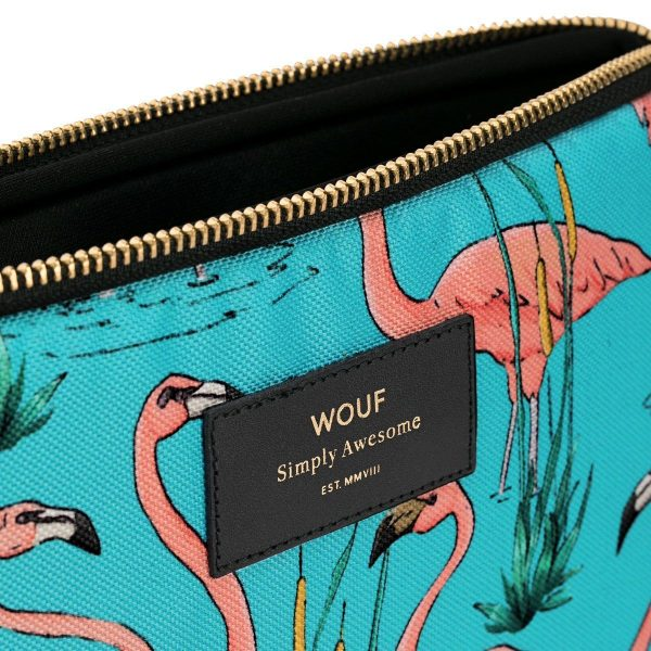 WOUF Pink Flamingos iPad hoes 4
