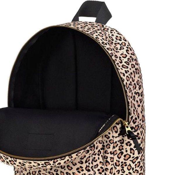 Pink Savannah Backpack opening
