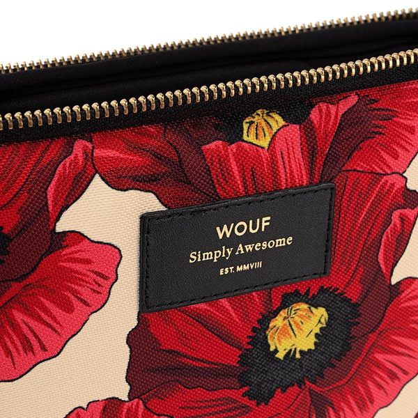 "Wouf Poppy Laptophoes 13"" detail"