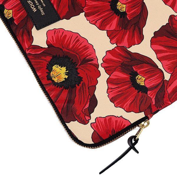 """Wouf Poppy Laptophoes 13"""" rits"""