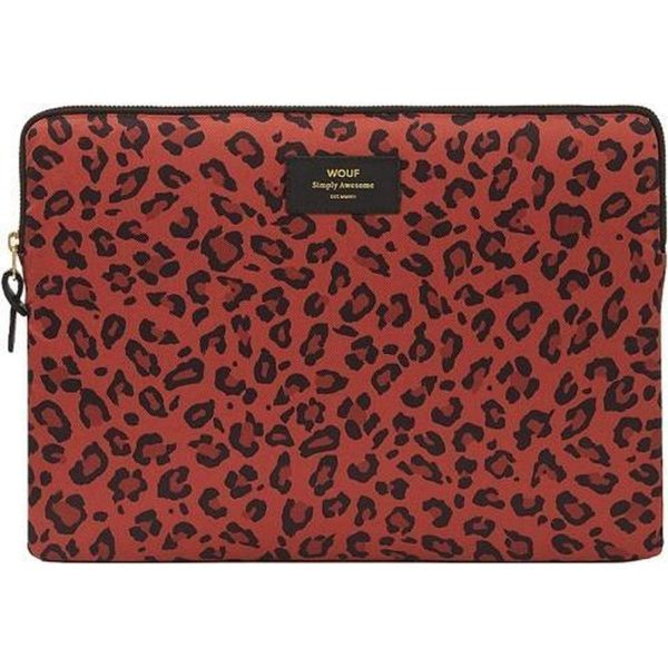 Wouf Red leopard laptophoes 15